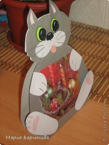 "Открытка ""Котёнок"" фото 2"