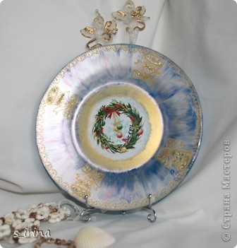 Новый год - тарелки фото 5