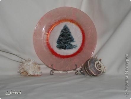 Новый год - тарелки фото 8