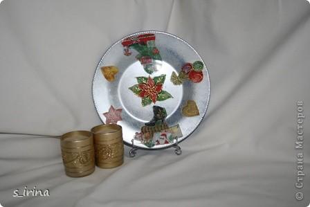 Новый год - тарелки фото 10
