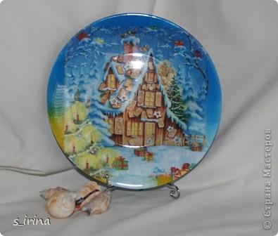 Новый год - тарелки фото 12