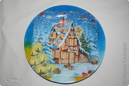 Новый год - тарелки фото 13