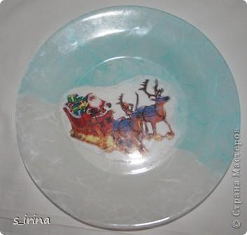 Новый год - тарелки фото 15