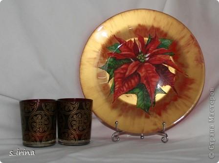 Новый год - тарелки фото 2