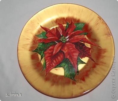 Новый год - тарелки фото 1