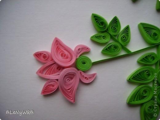 Спасибо Ольге Ольшак за идею- панно из роз. Надпись напечатана просто на принтере. фото 3