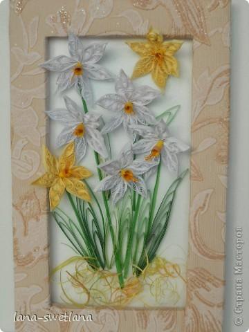 заснежило в стране,а я все с цветами.в душе весна.выставляю первую работу с большим волнением. фото 1
