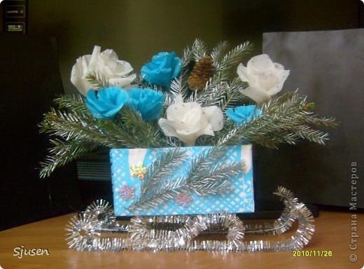 Розы в серебре фото 2