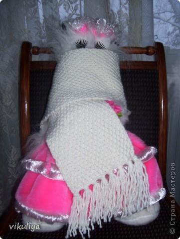 шарф с кисточками фото 1
