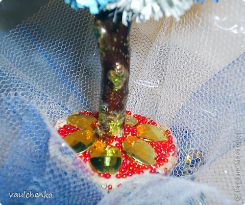 Попробуем этим зимним деревцем пригласить зиму к нам в город! фото 5