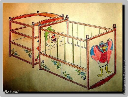 Комплект детской мебели. фото 1
