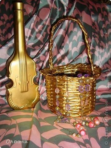 Красила золотой краской из балончика. фото 2