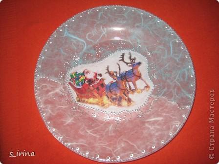 Новый год - тарелки фото 21
