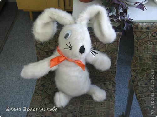 """Вот какого замечательного кролика сшила Пичуркина Олеся для конкурса """"Новогодняя игрушка"""" фото 2"""