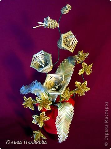 Маленький цветочный сувенир фото 1