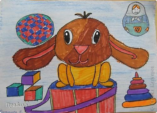 Забавный кролик фото 1