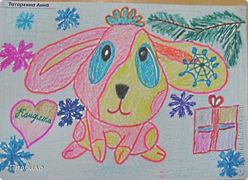 Забавный кролик фото 2