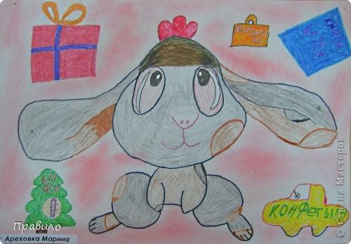 Забавный кролик фото 3