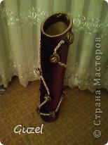 Декоративная ваза для интерьера фото 2