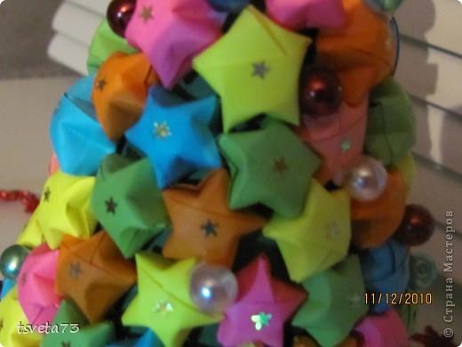 Вот такая елка получилась у меня к Новому году.... но пока она будет украшать мой компьютерный стол!!! Идею подсмотрела у Тимоти и Пустельги... Девочки спасибо вам огромное!!!!! фото 2