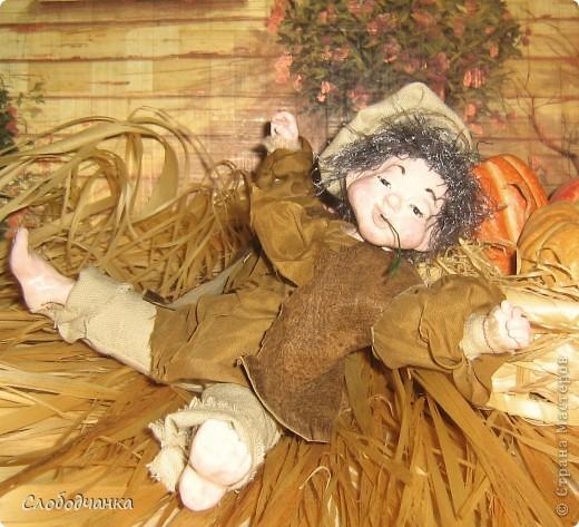 Никогда не лепила кукол, а тут как-то осенью вдруг.... фото 12