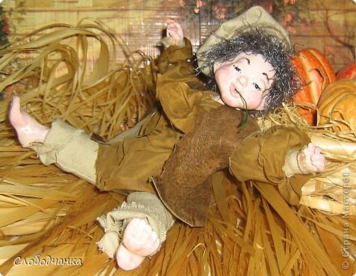 Никогда не лепила кукол, а тут как-то осенью вдруг.... фото 1