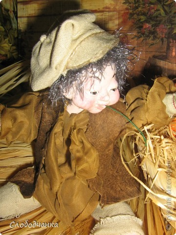 Никогда не лепила кукол, а тут как-то осенью вдруг.... фото 2