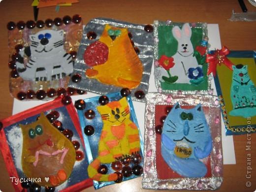 Вот мои новогодние открыточки  Спасибо за идею ya-yalo !!!  фото 6
