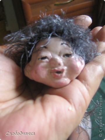 Никогда не лепила кукол, а тут как-то осенью вдруг.... фото 11