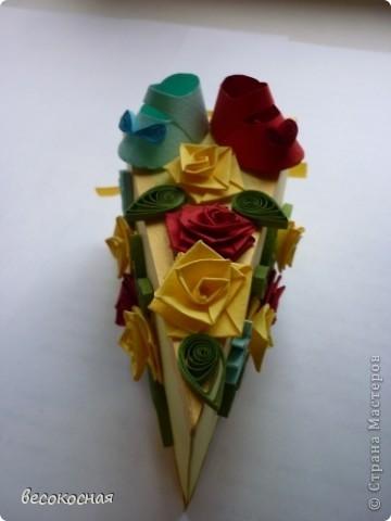Эта коробочка была подарена на свадьбе, с намеком на скорое пополнение в семействе:) фото 3