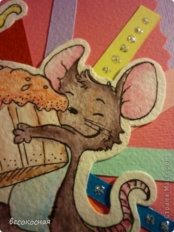Недавно купила акварельные карандаши и влюбилась в них. Теперь много открыток оформляю Тильдами и другими отрисовками раскрашенными карандашами.  фото 2