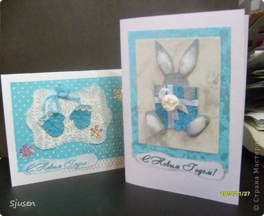 Это мои первые открыточки, поэтому повторюшки)) фото 1
