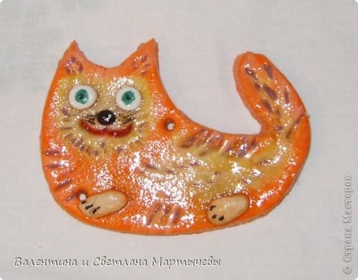 Вот такой первый котейка получился, но кто то из внучат все таки пальчиком потыкал, не уследили... фото 7