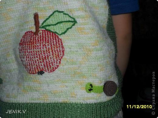 Моя первая работа Тунисской вязкой! Кто не знает, это вязание длинным крючком! фото 3