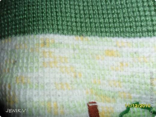 Моя первая работа Тунисской вязкой! Кто не знает, это вязание длинным крючком! фото 5