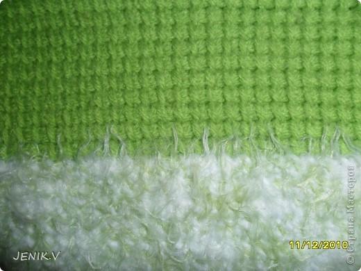 Моя первая работа Тунисской вязкой! Кто не знает, это вязание длинным крючком! фото 7