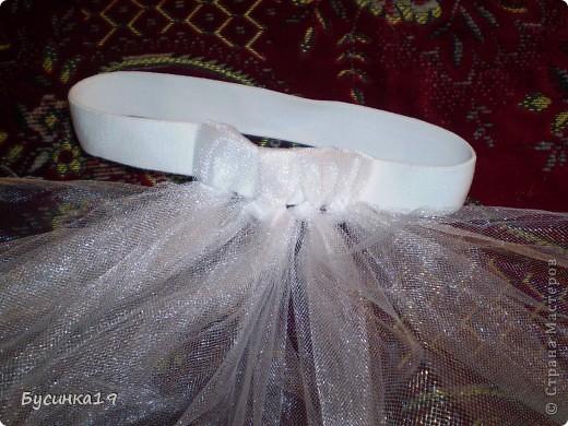 Мастер-класс Новый год Моделирование конструирование Снежинка новогодний костюм Ткань фото 5