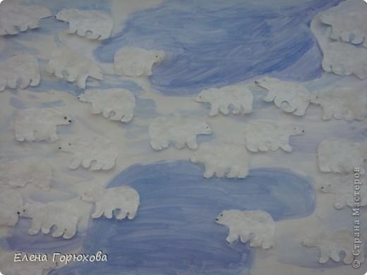 Где-то на белом свете, Там, где всегда мороз.  Трутся спиной медведи о земную ось..... фото 1
