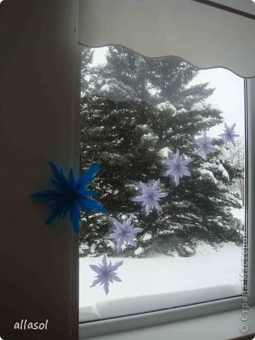 Вот такие снежинки у нас появились в классе. А может быть такие уже были?  фото 1