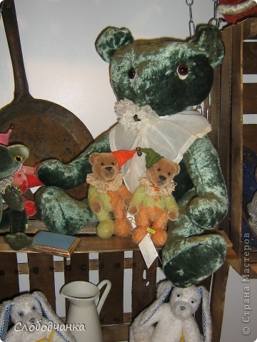 """Проект """"Жестяная лавка"""" на выставке """"Искусство куклы"""" в Манеже. фото 15"""
