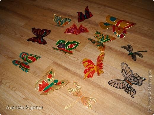 Наделала бабочек, пока без украс. фото 1