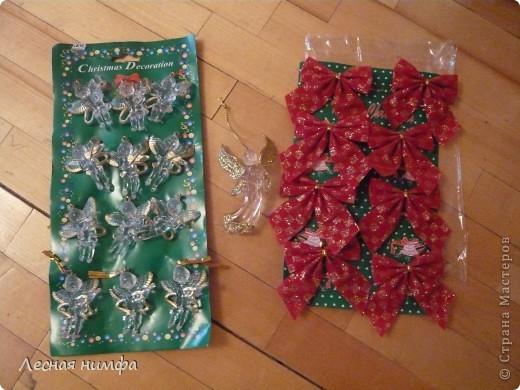 Вот такой Рождественский веночек у меня получился. фото 10