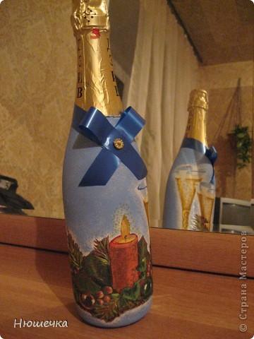 Вот такой Дед Мороз. Подскажите из чего можно сделать глазки?))))))))))))) фото 3