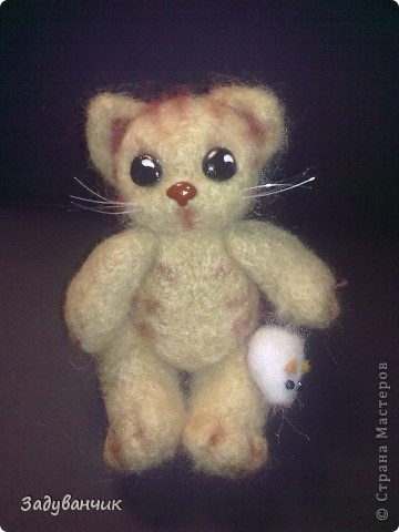 Ещё валяшка. Котик с мышонком.  фото 1