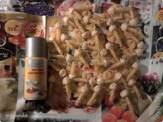 Aнгелочки из макарон фото 2