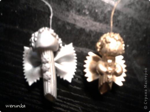 Aнгелочки из макарон фото 4