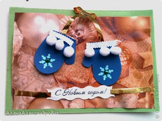 Уж очень полюбились в Стране мастеров открыточки с варежками, и мы не смогли пройти мимо.Большое спасибо за идею МК Михеевой Анне http://rus-scrap.ru/ideas/master-klass-otkryitka-rukovichki.html фото 3