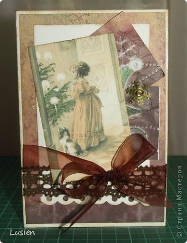 Я снова с открытками:) А Новый год все ближе и ближе:) фото 1