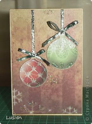 Я снова с открытками:) А Новый год все ближе и ближе:) фото 2