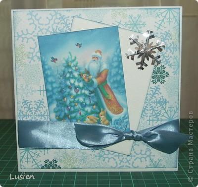 Я снова с открытками:) А Новый год все ближе и ближе:) фото 3